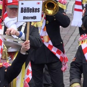 Muzikale ode aan de Oisterwijkse optocht 2016