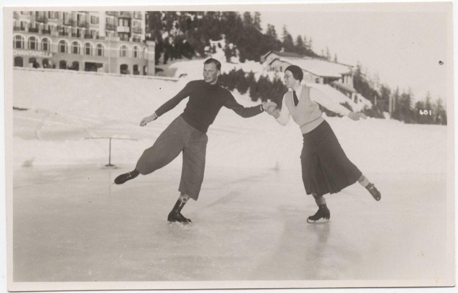 Ann en Franz Ferdinand Oppenheimer